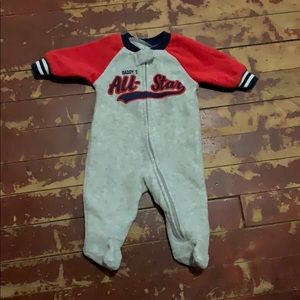 Newborn Pajama Fleece